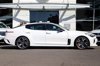 2017 Kia Stinger CK MY18 GT Fastback White 8 Speed Sports Automatic Sedan.