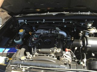 2005 Nissan Navara D22 ST-R (4x4) Black 5 Speed Manual Dual Cab Pick-up