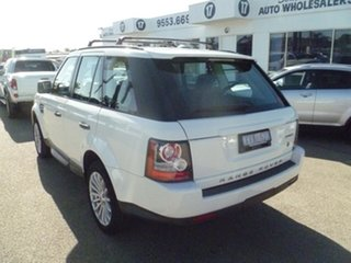 2010 Land Rover Range Rover Sport L320 11MY TDV6 White 6 Speed Sports Automatic Wagon