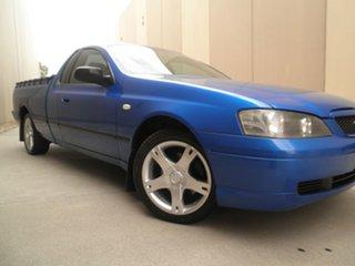 2005 Ford Falcon BA Mk II XLS Ute Super Cab Shock Wave Blue 4 Speed Sports Automatic Utility