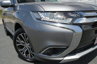 2018 Mitsubishi Outlander ZL MY18.5 ES ADAS 5 Seat (AWD) Grey Continuous Variable Wagon.