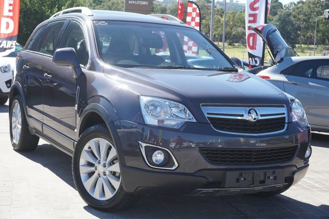 Used Holden Captiva CG MY15 5 AWD LT Phillip, 2015 Holden Captiva CG MY15 5 AWD LT Grey 6 Speed Sports Automatic Wagon