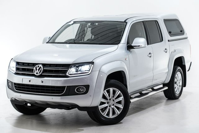 Used Volkswagen Amarok 2H MY16 TDI420 4Motion Perm Highline Berwick, 2016 Volkswagen Amarok 2H MY16 TDI420 4Motion Perm Highline Grey 8 Speed Automatic Utility