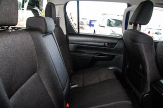 2017 Toyota Hilux GUN126R SR (4x4) Nebula Blue 6 Speed Automatic Dual Cab Utility