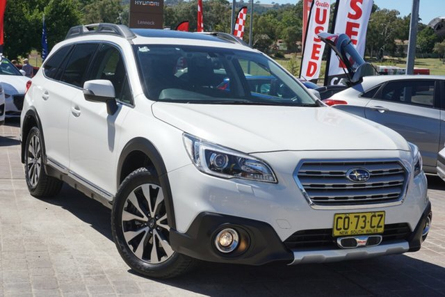 Used Subaru Outback B6A MY17 3.6R CVT AWD Phillip, 2017 Subaru Outback B6A MY17 3.6R CVT AWD White 6 Speed Constant Variable Wagon