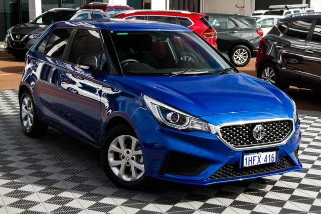 Used MG MG3 SZP1 MY20 Core Attadale, 2020 MG MG3 SZP1 MY20 Core Blue 4 Speed Automatic Hatchback