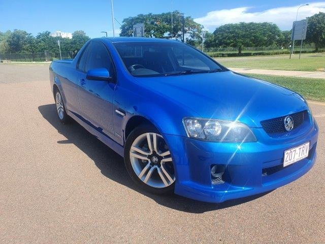 Used Holden Ute VE MY10 SV6 Townsville, 2010 Holden Ute VE MY10 SV6 6 Speed Sports Automatic Utility