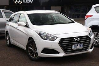 2017 Hyundai i40 VF4 Series II Active Tourer White 6 Speed Sports Automatic Wagon.
