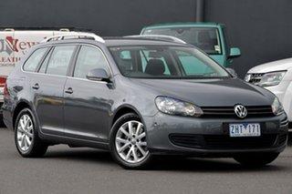 2011 Volkswagen Golf VI MY11 118TSI DSG Comfortline Grey 7 Speed Sports Automatic Dual Clutch Wagon.