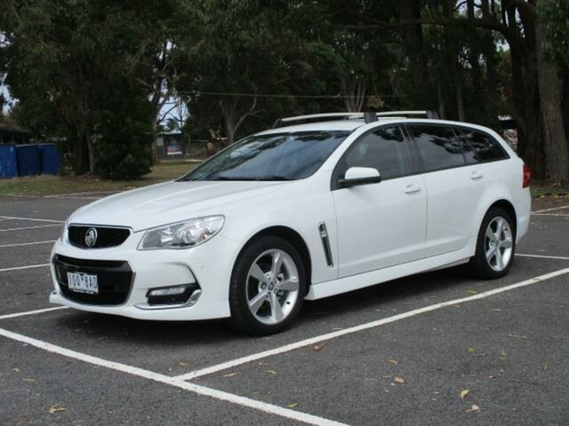 Used Holden Commodore SV6 Timboon, 2017 Holden Commodore SV6 SV6 White Automatic Sportswagon