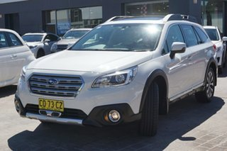 2017 Subaru Outback B6A MY17 3.6R CVT AWD White 6 Speed Constant Variable Wagon