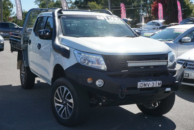 Used Nissan Navara D23 S2 ST-X Phillip, 2017 Nissan Navara D23 S2 ST-X White 6 Speed Manual Utility