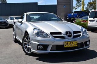 2009 Mercedes-Benz SLK-Class R171 MY09 SLK350 Silver 7 Speed Automatic Roadster.