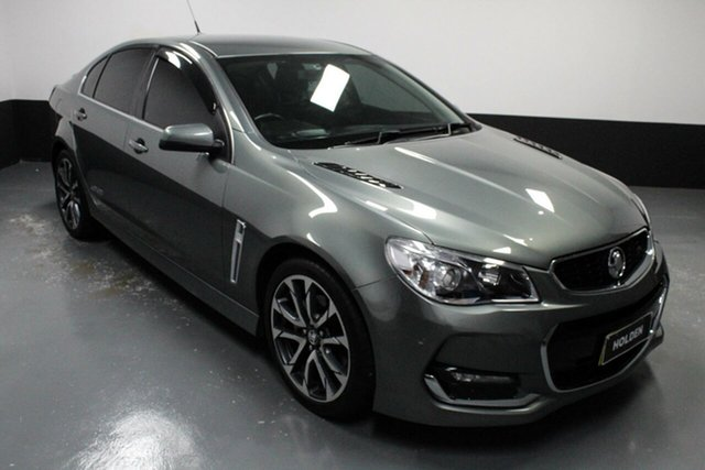 Used Holden Commodore VF II MY16 SS V Hamilton, 2015 Holden Commodore VF II MY16 SS V Prussion Stel 6 Speed Sports Automatic Sedan