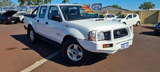 2015 Nissan Navara D22 S5 ST-R White 5 Speed Manual Utility.