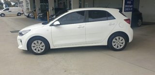 2017 Kia Rio YB MY17 S Clear White 4 Speed Sports Automatic Hatchback
