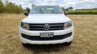 2015 Volkswagen Amarok 2H MY15 TDI400 4MOT Core White 6 Speed Manual Utility