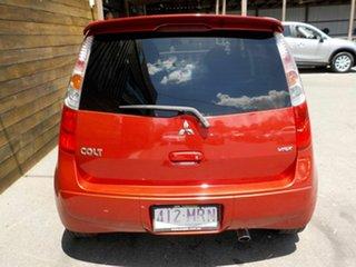 2009 Mitsubishi Colt RG MY09 VR-X Red 5 Speed Manual Hatchback