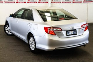 2012 Toyota Camry ASV50R Altise Silver Pearl 6 Speed Automatic Sedan.