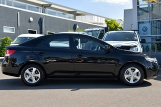 2012 Kia Cerato TD MY12 SI Black 6 Speed Sports Automatic Sedan.