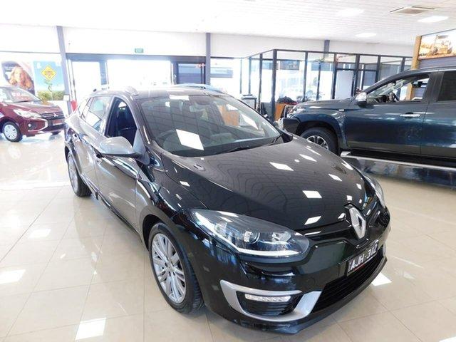 Used Renault Megane III K95 Phase 2 GT-Line Sportwagon EDC Wonthaggi, 2016 Renault Megane III K95 Phase 2 GT-Line Sportwagon EDC Black 6 Speed