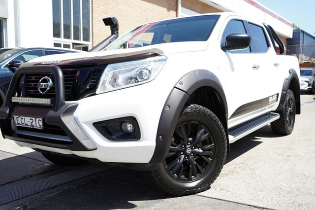 Used Nissan Navara D23 S3 ST Black Edition Narrabeen, 2018 Nissan Navara D23 S3 ST Black Edition White 7 Speed Sports Automatic Utility