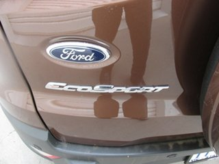2015 Ford Ecosport BK Trend PwrShift Brown 6 Speed Sports Automatic Dual Clutch Wagon