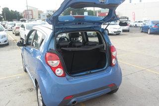 2014 Holden Barina Spark MJ MY14 CD Blue 4 Speed Automatic Hatchback