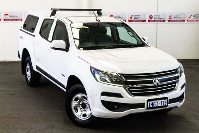 Pre-Owned Holden Colorado RG MY17 LS (4x4) Myaree, 2017 Holden Colorado RG MY17 LS (4x4) White 6 Speed Automatic Crew Cab Pickup