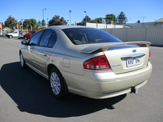 2005 Ford Fairmont BF Gold 4 Speed Sports Automatic Sedan