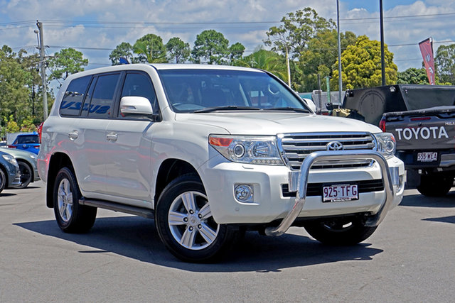 Used Toyota Landcruiser VDJ200R MY12 VX Chandler, 2013 Toyota Landcruiser VDJ200R MY12 VX White 6 Speed Sports Automatic Wagon