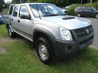 2007 Holden Rodeo RA MY07 LX (4x4) Silver 5 Speed Manual Crew Cab Chassis