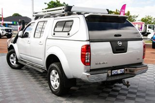 2010 Nissan Navara D40 ST Silver 6 Speed Manual Utility