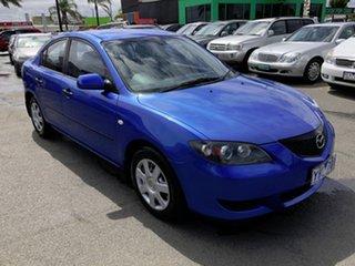 2005 Mazda 3 BK10F1 Neo Blue 4 Speed Sports Automatic Sedan.