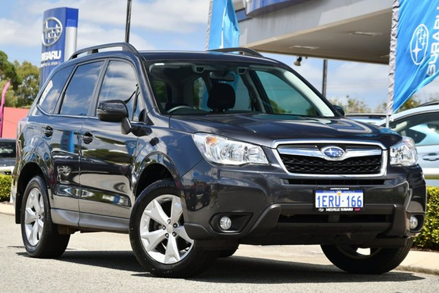 Used Subaru Forester S4 MY15 2.5i-L CVT AWD Melville, 2015 Subaru Forester S4 MY15 2.5i-L CVT AWD Dark Grey 6 Speed Constant Variable Wagon