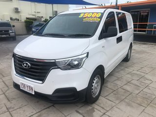 2018 Hyundai iLOAD TQ4 MY19 White 5 Speed Automatic Van.