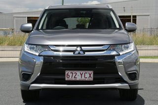 2018 Mitsubishi Outlander ZL MY18.5 ES ADAS 5 Seat (AWD) Grey Continuous Variable Wagon
