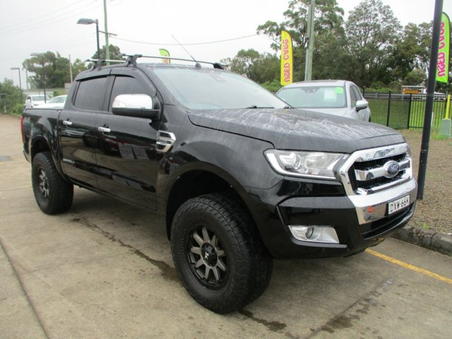 Used Ford Ranger PX MkII 2018.00MY XLT Super Cab Glendale, 2018 Ford Ranger PX MkII 2018.00MY XLT Super Cab Black 6 Speed Sports Automatic Utility