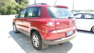 2010 Volkswagen Tiguan 5N MY10 125TSI 4MOTION Red 6 Speed Sports Automatic Wagon