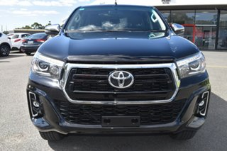 2019 Toyota Hilux GUN126R SR5 Double Cab Black 6 Speed Sports Automatic Utility