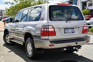 2003 Toyota Landcruiser UZJ100R GXL Silver 5 Speed Automatic Wagon.