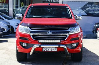 2017 Holden Colorado RG MY18 LTZ Pickup Crew Cab 4x2 Red 6 Speed Sports Automatic Utility