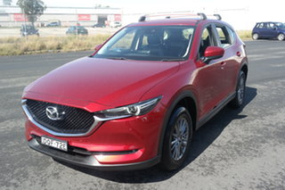 2017 Mazda CX-5 KF4WLA Touring SKYACTIV-Drive i-ACTIV AWD Red 6 Speed Sports Automatic Wagon.