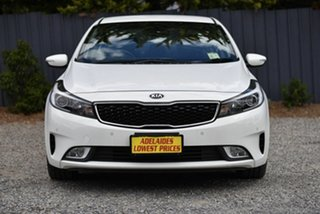 2018 Kia Cerato YD MY18 S White 6 Speed Sports Automatic Sedan.