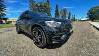 2020 Mercedes-Benz GLC-Class X253 801MY GLC43 AMG SPEEDSHIFT TCT 4MATIC Obsidian Black Metallic