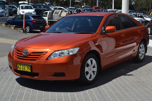 Used Toyota Camry ACV40R Altise Maitland, 2009 Toyota Camry ACV40R Altise Orange 5 Speed Automatic Sedan