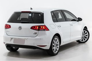 2016 Volkswagen Golf VII MY16 110TSI DSG Highline White 7 Speed Sports Automatic Dual Clutch.