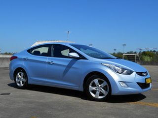 2013 Hyundai Elantra MD2 Elite Blue 6 Speed Sports Automatic Sedan.