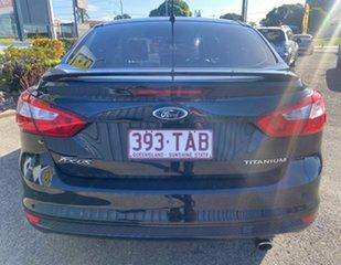 2012 Ford Focus LW Titanium PwrShift Panther Black 6 Speed Sports Automatic Dual Clutch Sedan