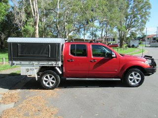 2012 Nissan Navara D40 S5 MY12 ST-X 550 Red 7 Speed Sports Automatic Utility.